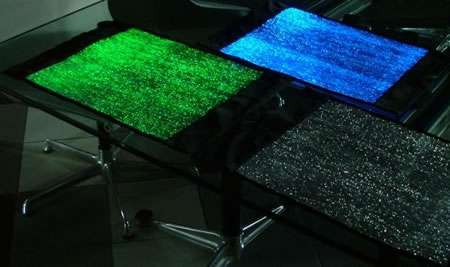 Luminescent Table Runners
