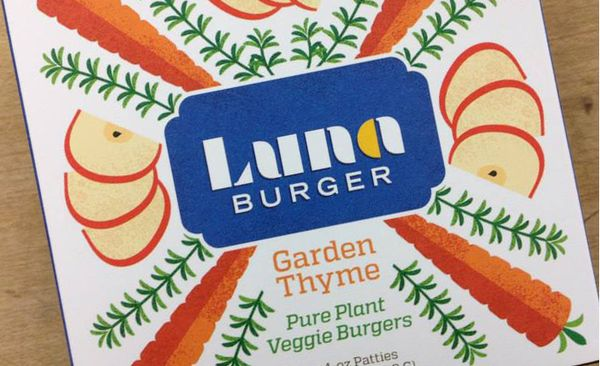Luna Burgers Packaging