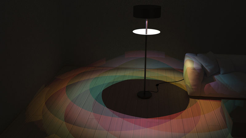 Eclipse-Mimicking Lamps
