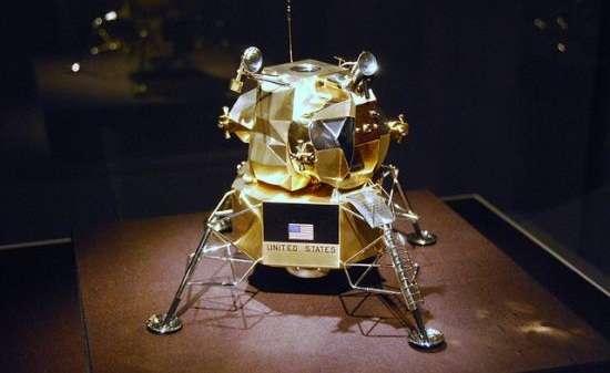 Solid-Gold Spacecraft Sculptures