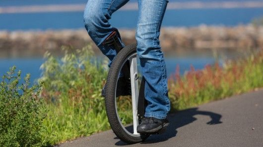 Easy-Riding Unicycles