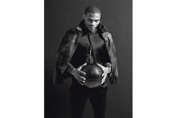 Basketball Star Fashion Shoots