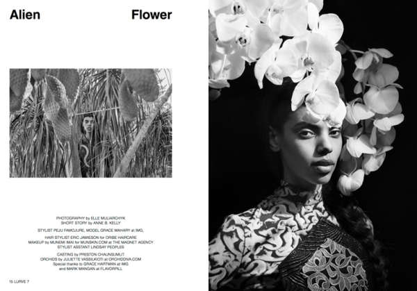 Lurve Magazine 'Alien Flower'