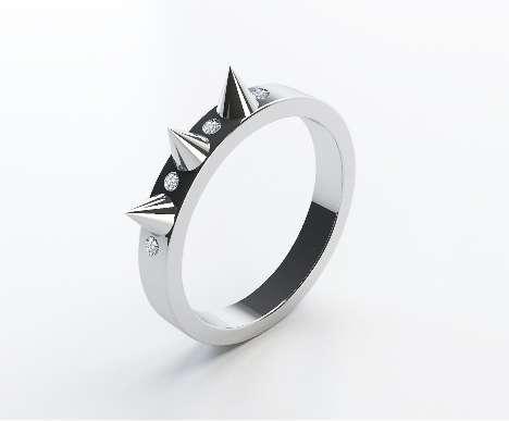 Spiky Rings
