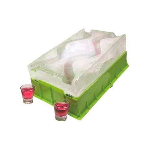 Ice Luge Chills Your Shots