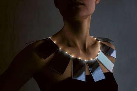 Solar Panel Necklaces