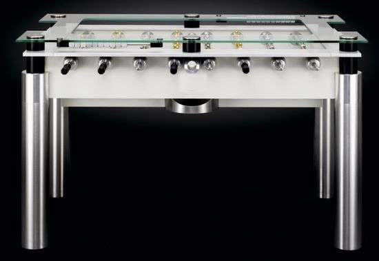 Glass Foosball Tables