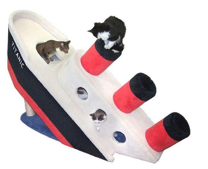 Sinking Feline Abodes