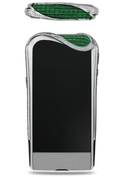 Emerald-Encrusted Smartphones