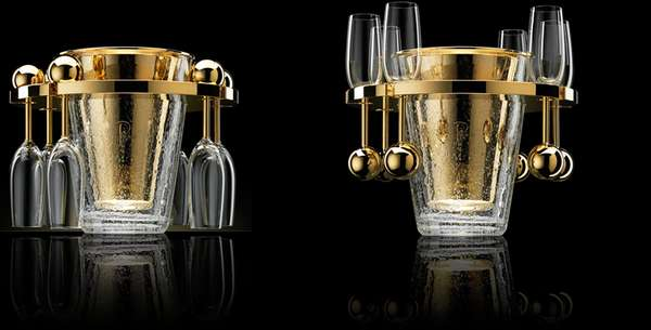 Luxury champagne coolers