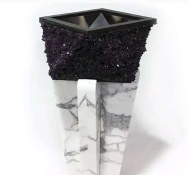 Crystal-Encrusted Sinks