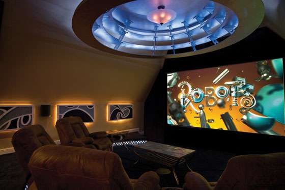 Rotating Home Theatre - Casa Cinema (
