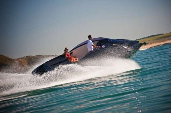 Seawater-Powered Speedboats