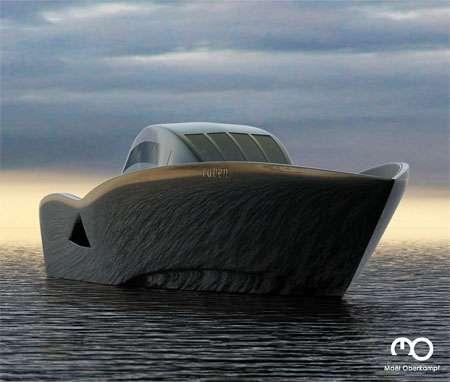 Futuristic Boat Design
