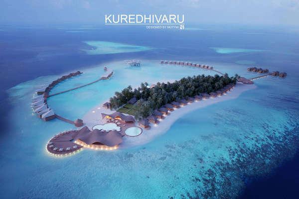 Peaceful Seaside Resort Renderings