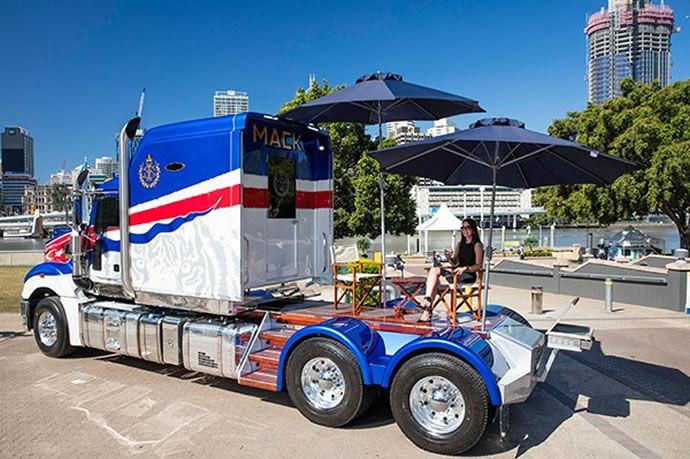 Opulent Palatial Trucks