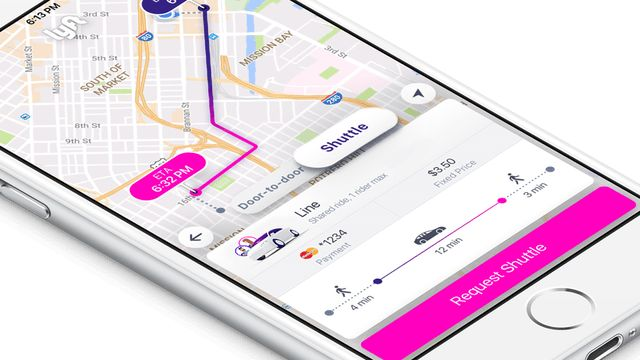 App-Connected Shuttle Services