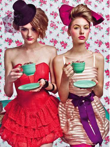 Bold Tea Party Photography