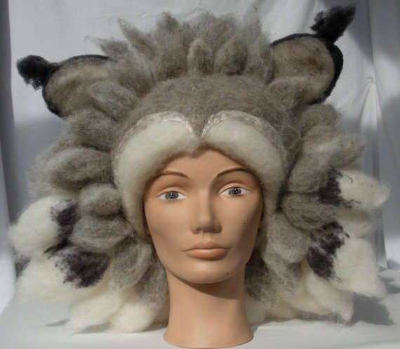 Wolf Hair Hats