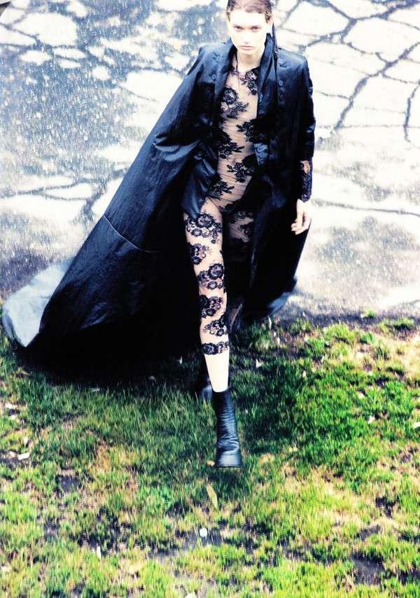 Lace Bodysuits