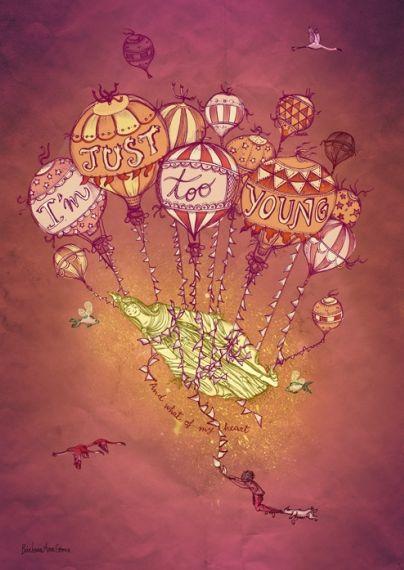 Song Lyric-Inspired Illustrations