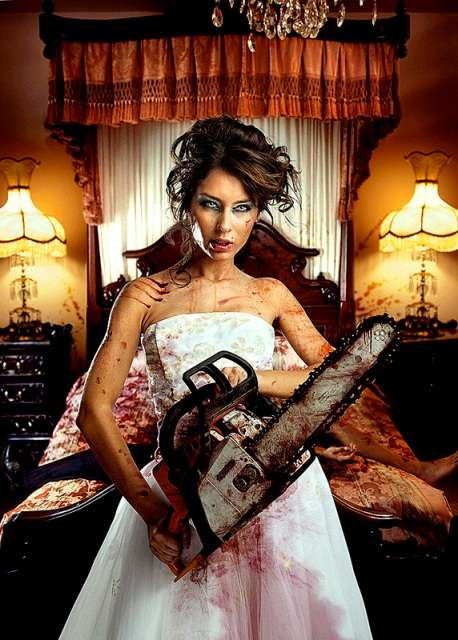 Chainsaw-Wielding Brides