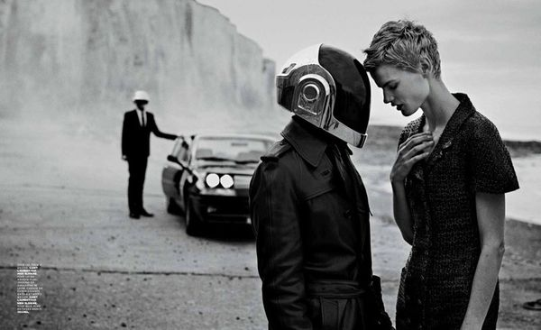 Cinematic Helmeted Celeb Editorials