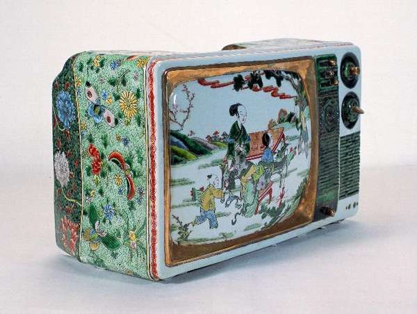 Porcelain-Wrought Televisions