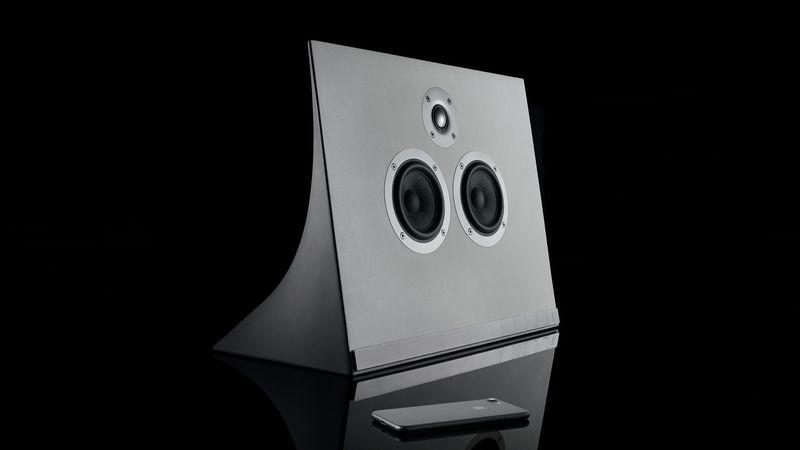 Hybrid Concrete Speakers