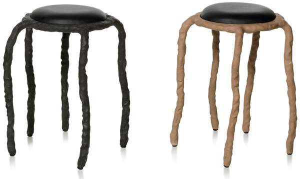 Creepy Crawling Clay Furniture