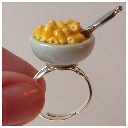Humorous Comfort Food Rings