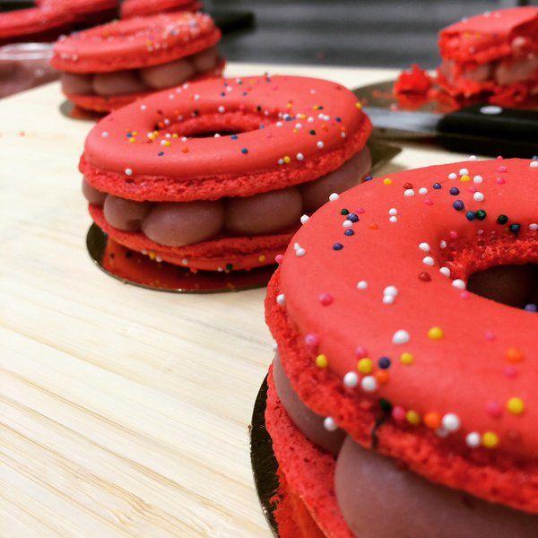 Hybrid Donut Macarons