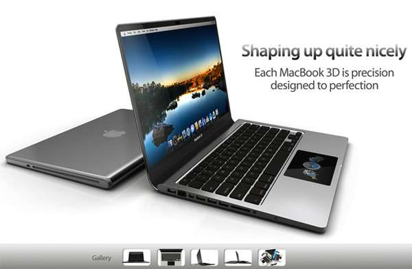 MacBook 3D Concept