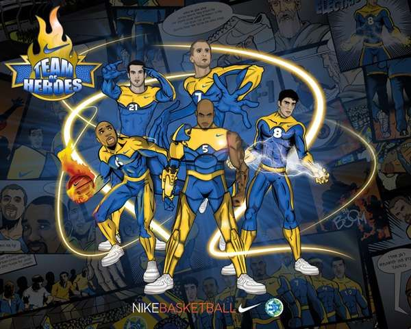 Basketball Superheroes