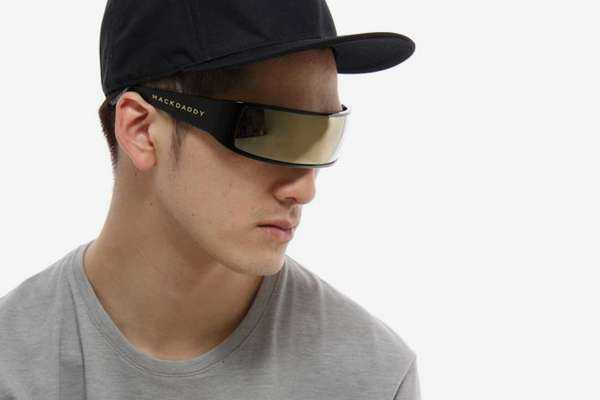 Single-Lens Sunglasses