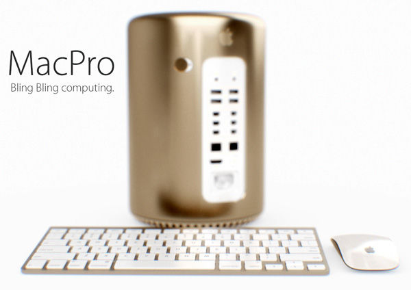 Golden Desktop Gadgets