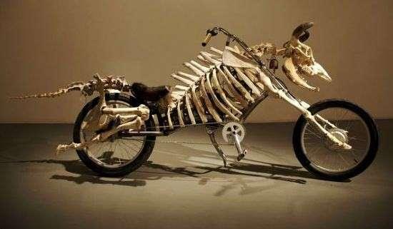 Skeletal 'Mootorcycles'