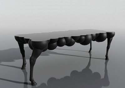 Bubble-Bellied Benches