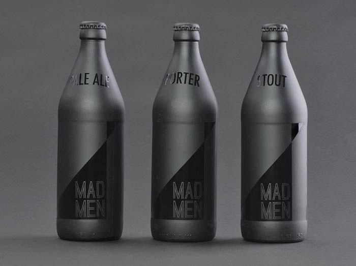 Business Men Beer Branding