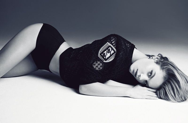 Sultry Grayscale Editorials