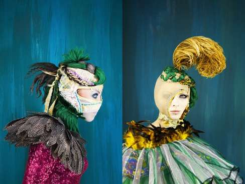 Feathery Fantasy Fashion