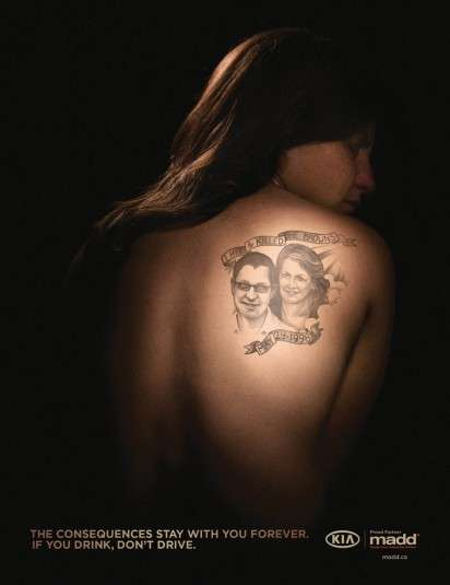 Guilty Tattoo Campaigns