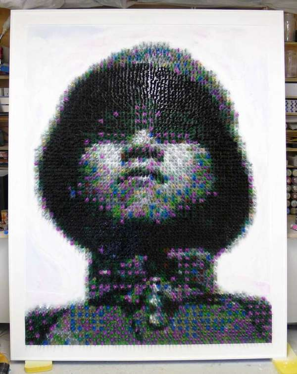 Iconic Pixelated Portraits