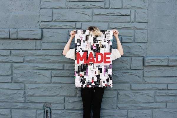 Colorful Clothing Tag Mosaics