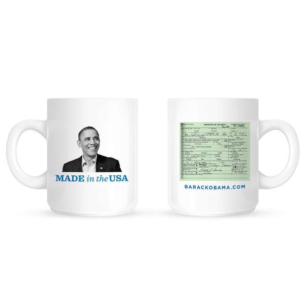 'Made the the USA' Mug