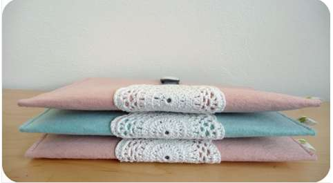 Dainty Doily Tablet Cases