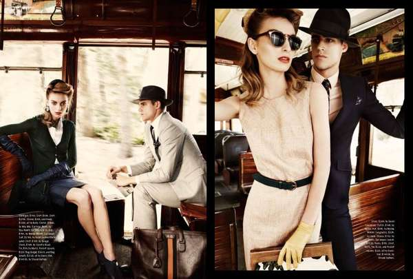 Romantic Love Story Editorials