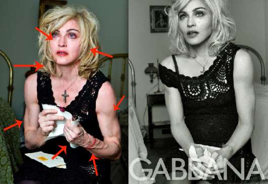 Madonna Dolce and Gabbana