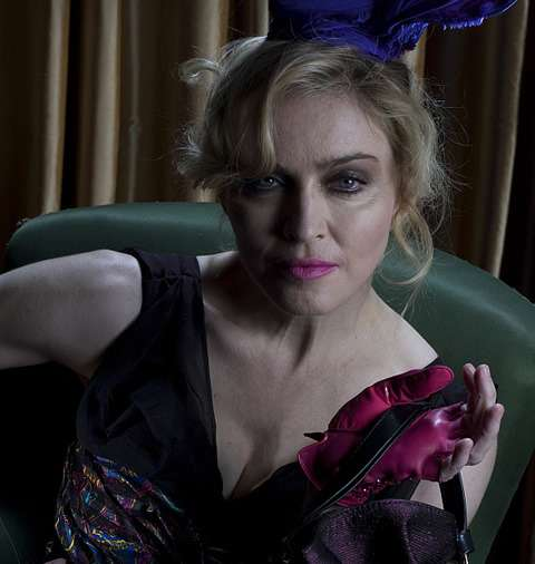 Unedited Photos of Madonna
