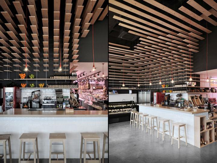 Futuristic Fresh Food Shops Madrid Food Shop